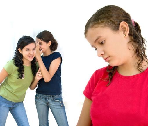 Girls spreading rumours