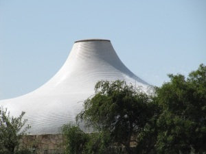 Israel Museum: the Shrine of the Book, which houses the Dead Sea Scrolls