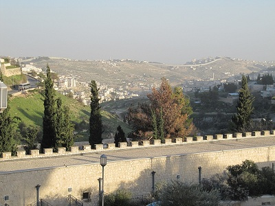 View from Mishkenot Sha'ananim