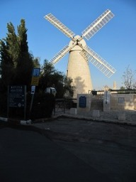 Mishkenot Sha'ananim Windmill, 2013