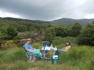 Picnicking in Black Valley, County Kerry