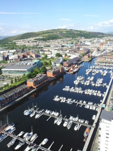 Swansea Marina: View from Meridian Tower
