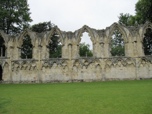St Mary's Abbey, gardens of Yorkshire Museum