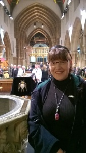 JenniferCWilliams in Leicester Cathedral
