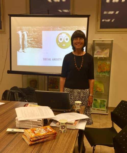 Miriam Drori - Presentation on Social Anxiety