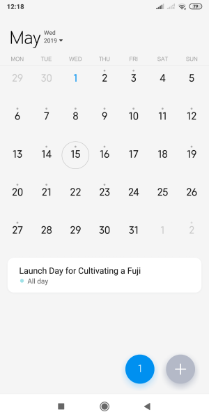 May 15, 2019 is Launch Day