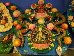 Labrang Monastery - sculpture.