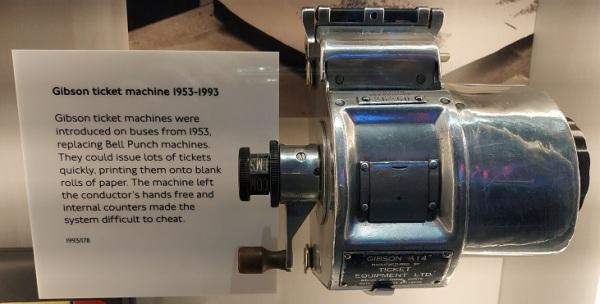 Gibson Ticket Machine