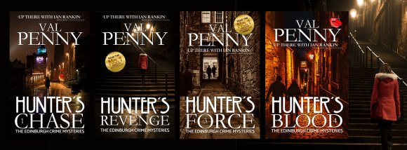 Four Edinburgh Crime Mysteries by Val Penny